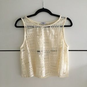 NWOT Tobi Crop Top